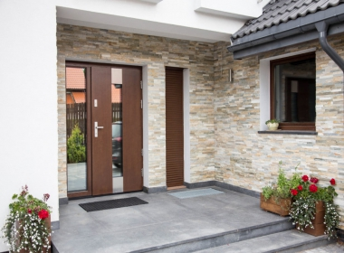 Exterior Entrance Door – for an apartment and a house