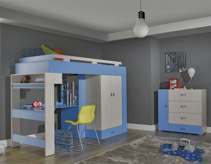 Miranda D - childrens bedroom furniture