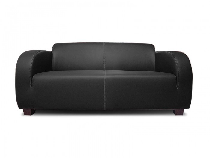 Hugo 2 - Faux leather 2 seater bed