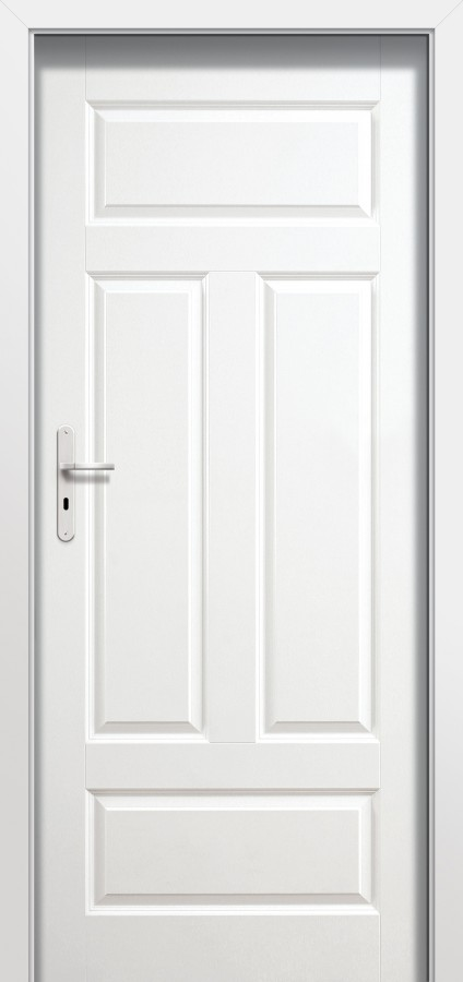 Plano FIO - single white internal door