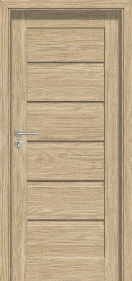 Plano ARC - solid interior door