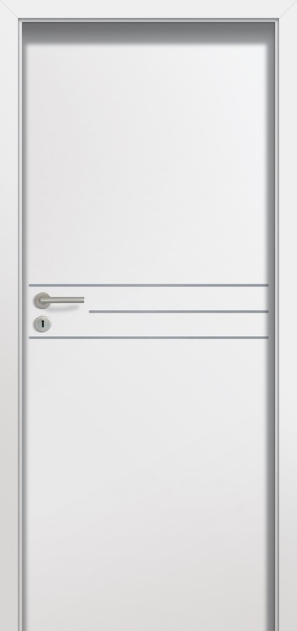 Plano TIA - solid interior door