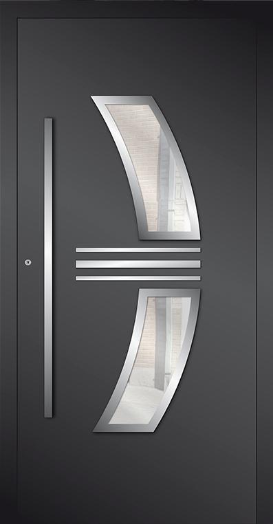 LIM AP15 - aluminum glass front door