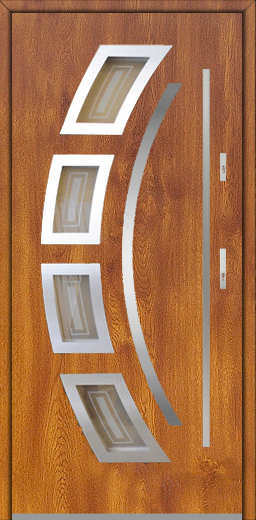 Fargo 21 - external solid front door