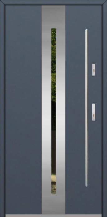 Fargo 26A - stainless steel front door