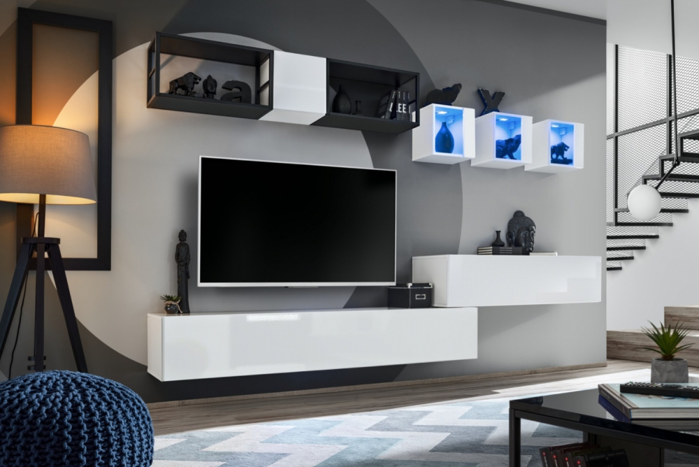 Shift M3 - modern tv wall