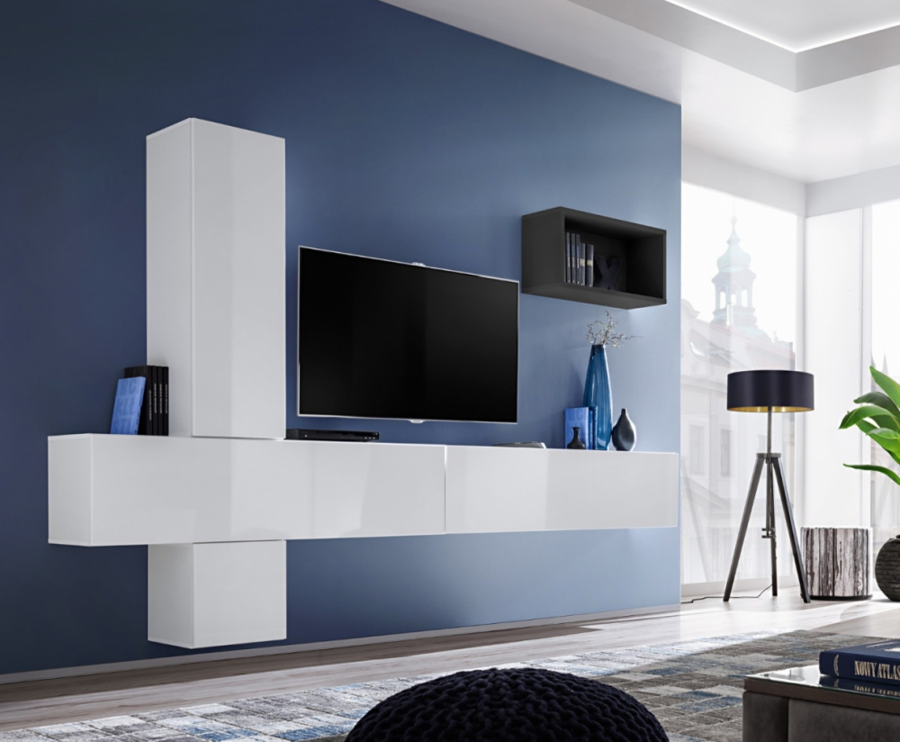 Boise VI - modern tv wall unit