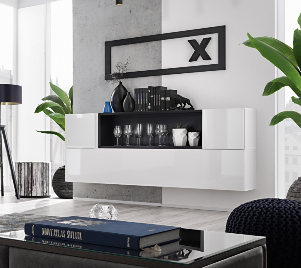Boise SB II - hanging contemporary sideboard