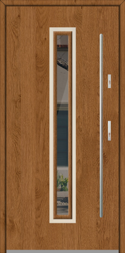 Fargo 29 - steel solid front door