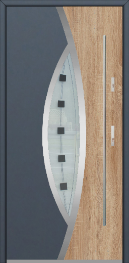 Fargo 31 DUO - two colours modern front door