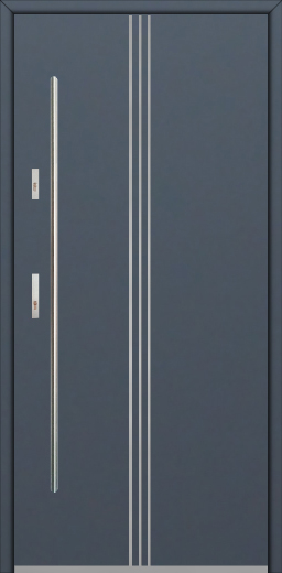 Fargo 32 - steel solid front door