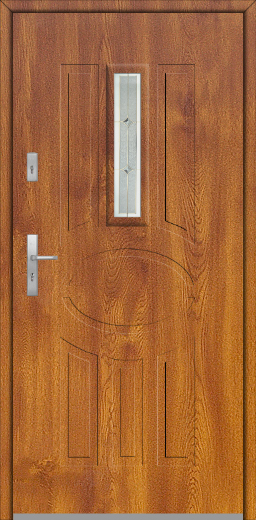 Fargo 33 -  solid single front door