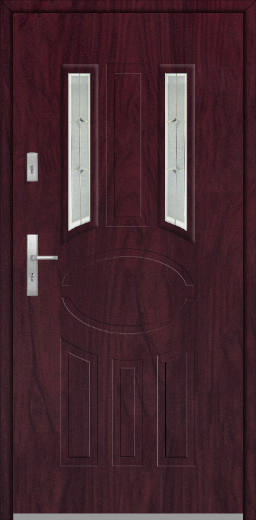 Fargo 33A - solid front house door
