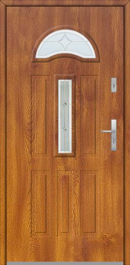 Fargo 34 - external front door with glass