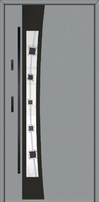 Fargo 37 A - solid single front door