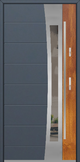 Fargo 37 DUO - modern front door