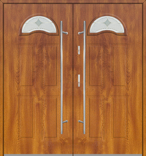Fargo 4 double - metal double exterior door / french door