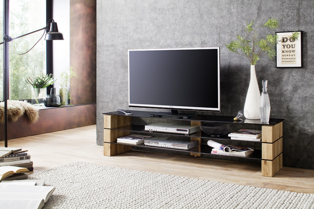 Kari 2 - solid wood tv stand