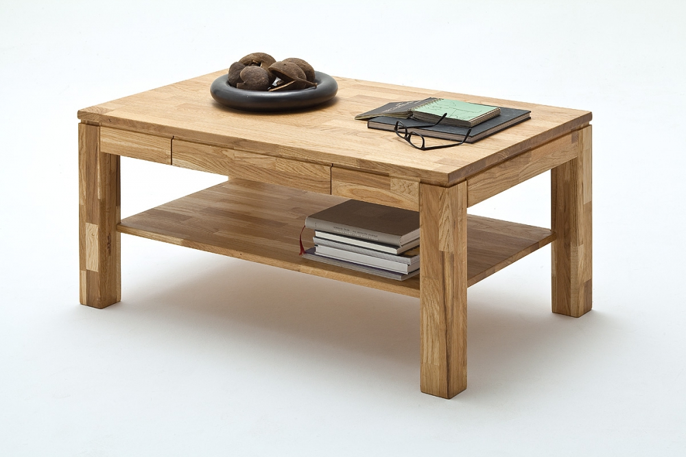 Lukas - oak coffee tables with storage