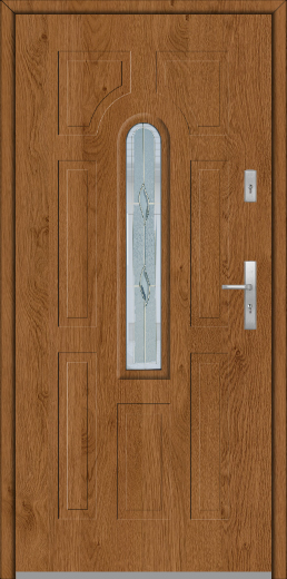 Fargo 5 - front entry solid door