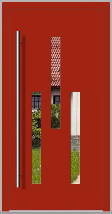 LIM TURMA - modern aluminium front door