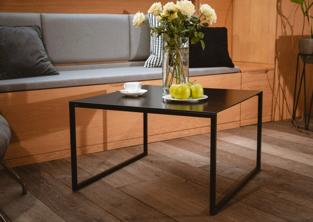 ZAFF 102 - metal black coffee table
