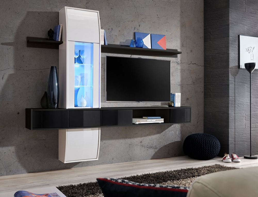 Cary 2 - modern tv entertainment stand