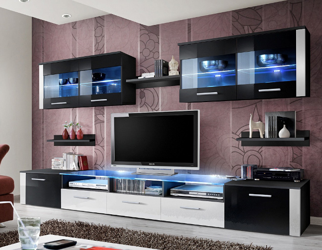 Zoom 4 - entertainment unit for living room