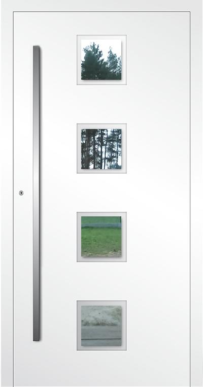 LIM AP08 - aluminium glass front door