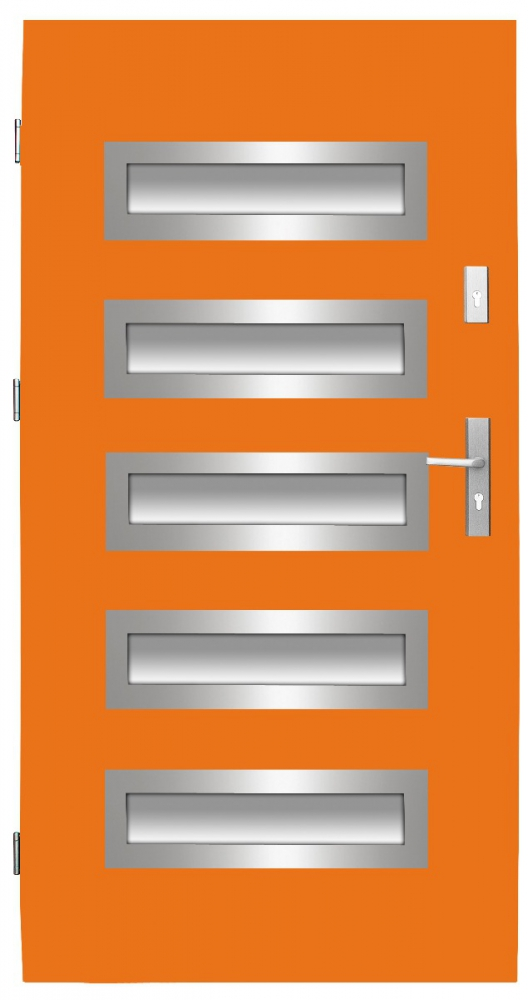 Fargo 20 CAMELEON - orange front door