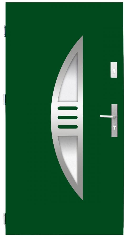 Fargo 24 CAMELEON - green front door