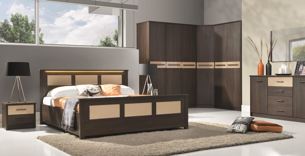 Cremona 4 - oak sonoma bedroom set