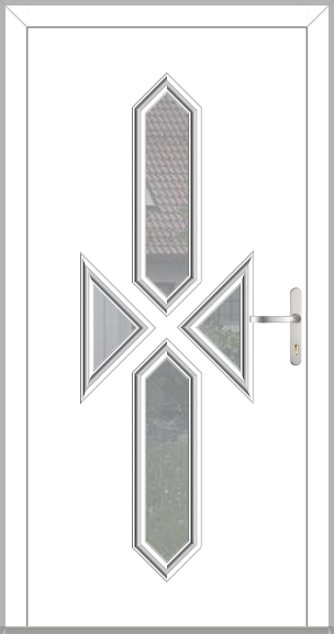 MALTA-T - classic aluminium entrance door