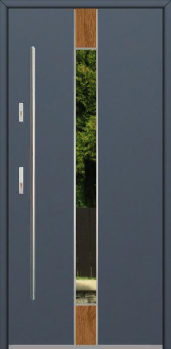 Fargo Fi06A - future inox - silver front door