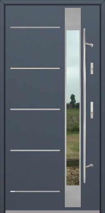 Fargo Fi07D - solid entrance door