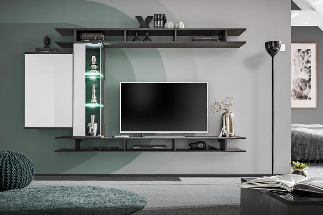 Asgam - tv entertainment wall unit
