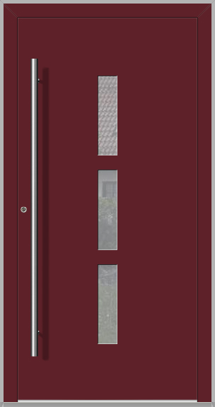 LIM Modus - aluminium front doors for homes