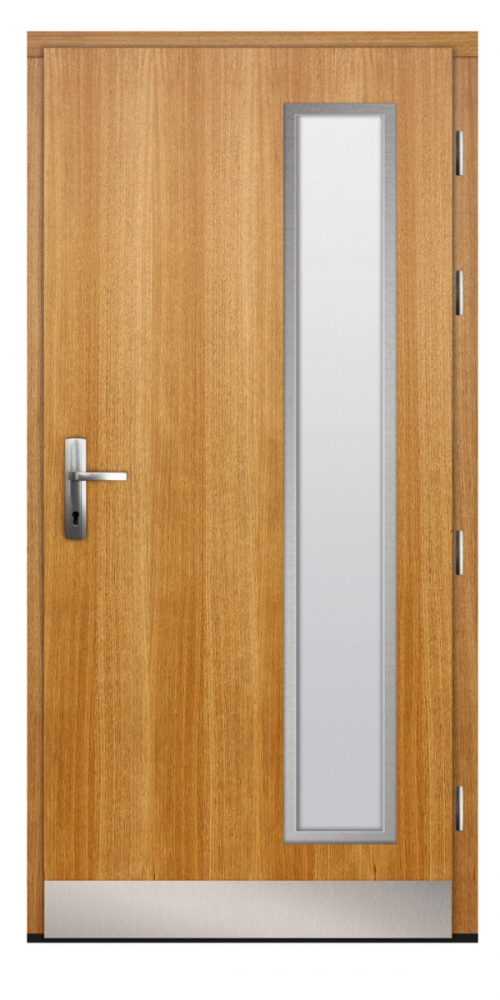 Jurcal - external hardwood door / oak or pine entrance door