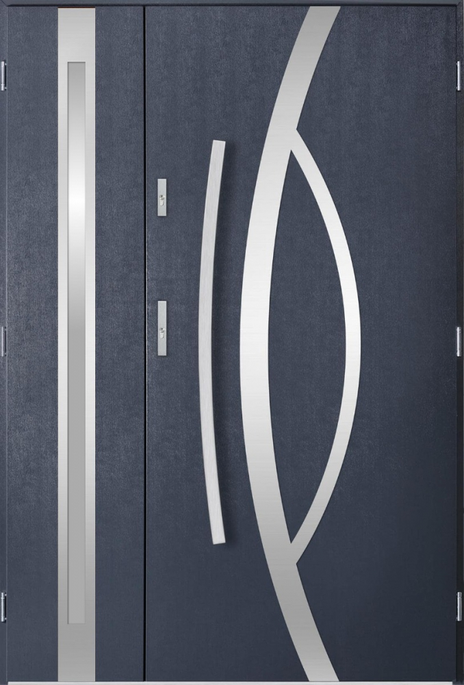 Kastor Duo - external entrance door