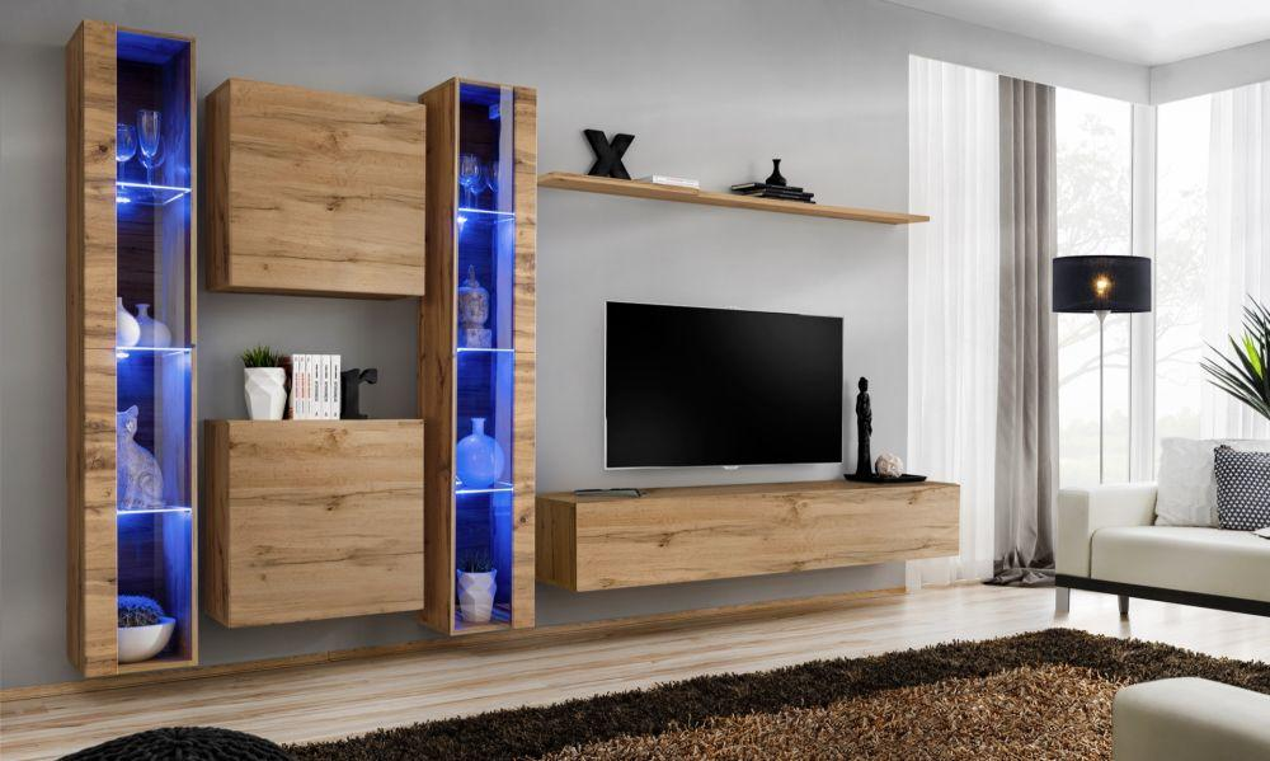 Shift 16 - living room wall units