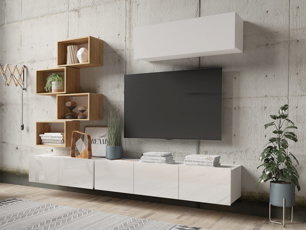 Cela 29 - modern high gloss tv unit