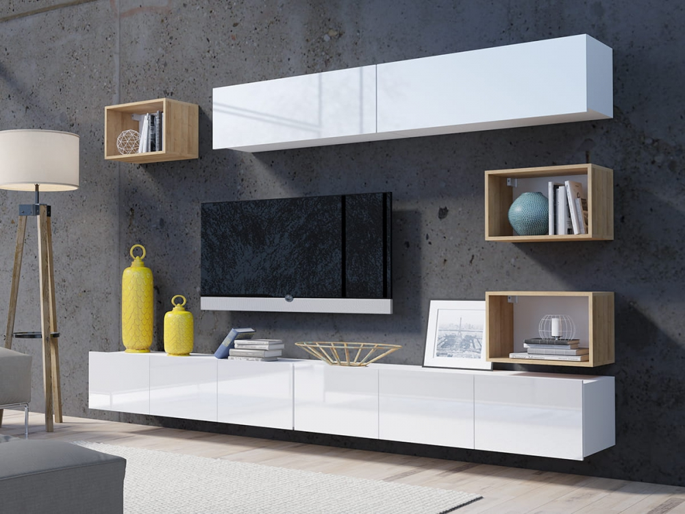 Cela 31 - modern tv wall unit
