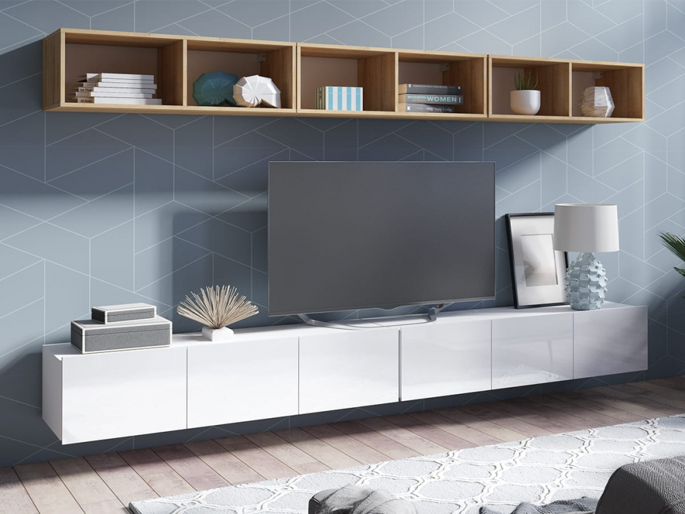 Cela 33 - floating tv shelf
