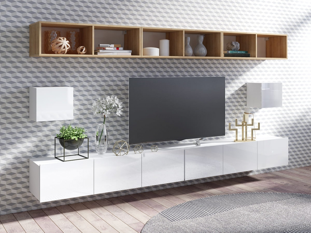 Cela 34 - entertainment center wall unit