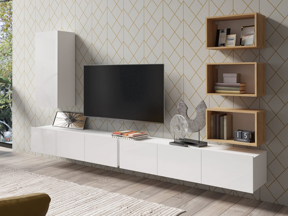 Cela 36 - media wall unit
