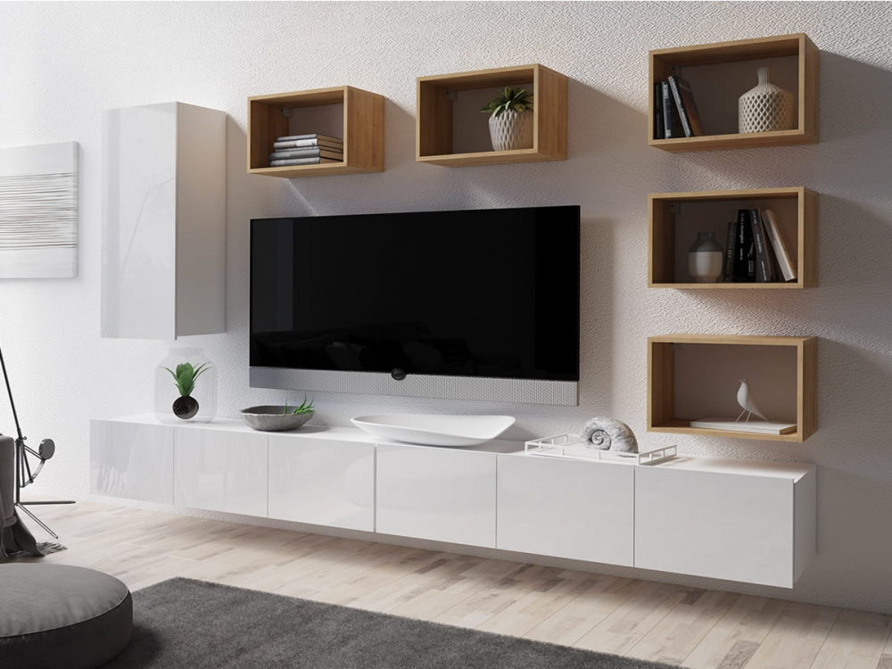 Cela 37 - modern tv wall unit