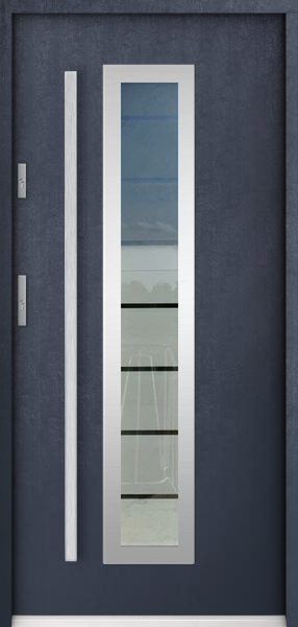 Sta Hevelius - outside door with window