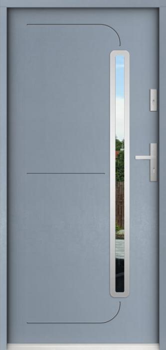 Sta Hadar - exterior front entry door