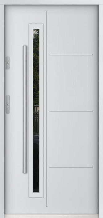 Sta Arago - front entrance door