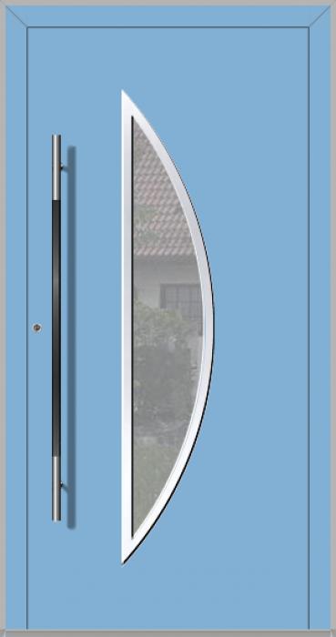 LIM Bow - aluminum glass front door